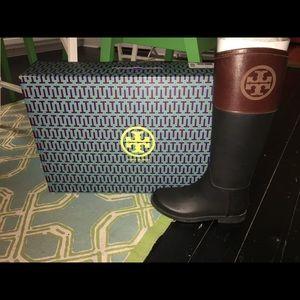 Tory Burch Rainboots Size 7